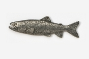#139 - Lake Trout Antiqued Pewter Pin