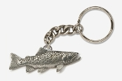 #K115 - Brook Trout Antiqued Pewter Keychain