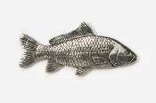#134 - Carp Antiqued Pewter Pin