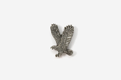 #M333 - Left Flying Eagle Pewter Mini-Pin