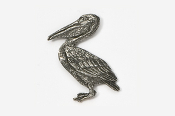 #342 - Pelican Antiqued Pewter Pin