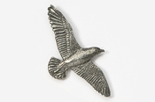 #385 - Seagull Antiqued Pewter Pin