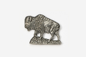 #407 - Buffalo Antiqued Pewter Pin