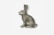 #412 - Rabbit Antiqued Pewter Pin