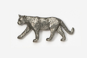 #426 - Mountain Lion Antiqued Pewter Pin