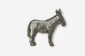 #442 - Mule Antiqued Pewter Pin