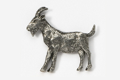 #448 - Goat Antiqued Pewter Pin