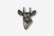 #465 - Spike Deer Antiqued Pewter Pin