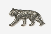 #495 - Tiger Antiqued Pewter Pin