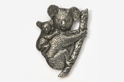 #497 - Koala Antiqued Pewter Pin