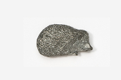 #498 - Hedgehog Antiqued Pewter Pin
