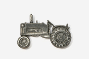 #935 - Tractor Antiqued Pewter Pin