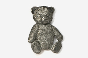 #970 - Teddy Bear Antiqued Pewter Pin