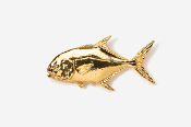 #216G - Permit 24K Gold Plated Pin