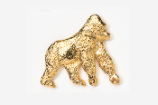 #489G - Gorilla 24K Gold Plated Pin