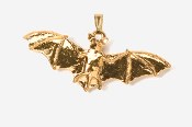 #P499G - Bat 24K Gold Plated Pendant