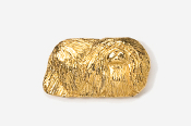 #853G - Pekinese 24K Gold Plated Pin