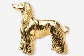 #870AG - Afghan 24K Gold Plated Pin