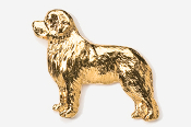 #871G - Newfoundland 24K Gold Plated Pin