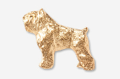 #885G - Bouvier 24K Gold Plated Pin
