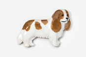 #455CP-BL - Cavalier King Charles Hand Painted Pin