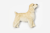 #455EP-B - Pet Clip Cocker Spaniel Hand Painted Pin
