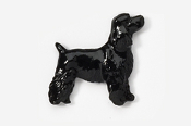 #455EP-BL - Pet Clip Cocker Spaniel Hand Painted Pin