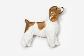 #455EP-RWP - Pet Clip Cocker Spaniel Hand Painted Pin