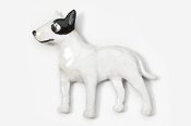 #460CP-BW - Bull Terrier Hand Painted Pin