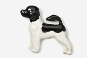 #864P-BP - Portuguese Water Dog Hand Painted Pin