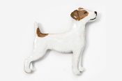 #461CP-RW - Jack Russell Hand Painted Pin