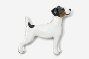 #461CP-T - Jack Russell Hand Painted Pin