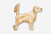 #457EP-OB - English Setter (with tail up) Hand Painted Pin