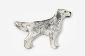 #457P-BB - English Setter Hand Painted Pin