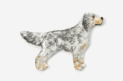 #457P-TB - English Setter Hand Painted Pin