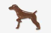 #451P-L - German Shorthair Hand Painted Pin