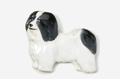 #882P-BW - Havanese Hand Painted Pin