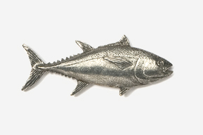 #202 - Bluefin Tuna Antiqued Pewter Pin