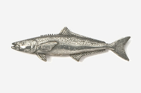 #228 - Cobia Antiqued Pewter Pin