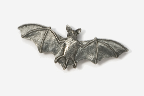 #499 - Bat Antiqued Pewter Pin