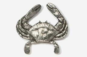 #531 - Crab Antiqued Pewter Pin