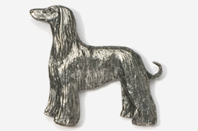 #870A - Afghan Antiqued Pewter Pin