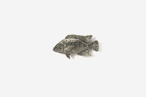 #M154 - Tilapia Pewter Mini-Pin