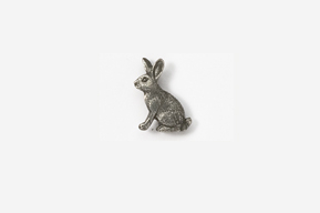 #M412 - Rabbit Pewter Mini-Pin