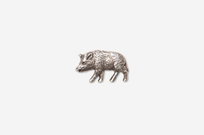 #M425 - Wild Boar Pewter Mini-Pin