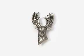 #M468 - 10 Point Buck Pewter Mini-Pin