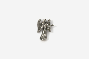 #M975 - Angel Pewter Mini-Pin