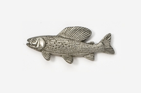 #127 - Grayling Antiqued Pewter Pin