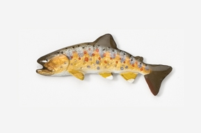 #132P - Japanese Yamame Trout Hand Painted Pin