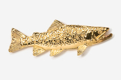 #115G - Brook Trout 24K Gold Plated Pin